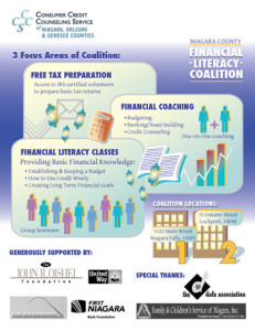 infographic for Consumer Credit Counseling Service of Buffalo