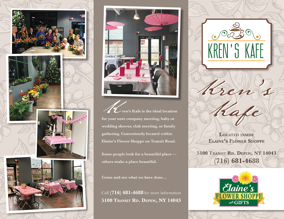 Kren's Kafe in Elaine's Flower Shoppe