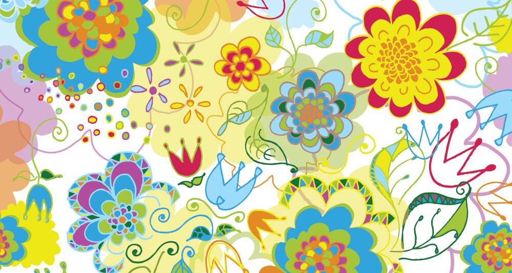 Ellen Morse floral pattern design