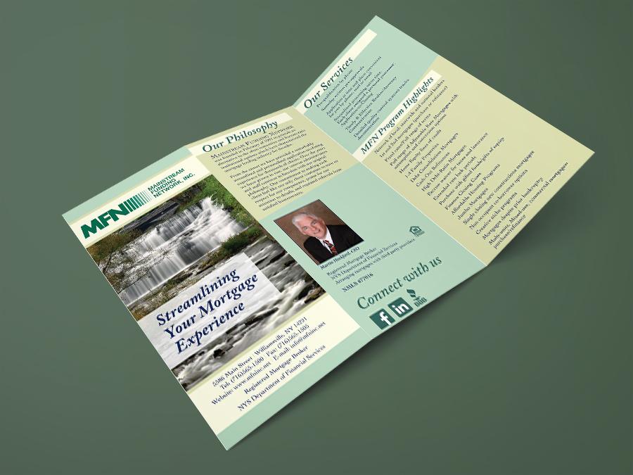MainStream Funding Network, brochure